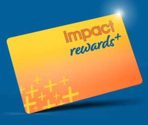 The Store Impact Rewards+ card Loyalty Program