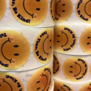 The Store Gas Station Take Time Be Kind Sticker Rolls