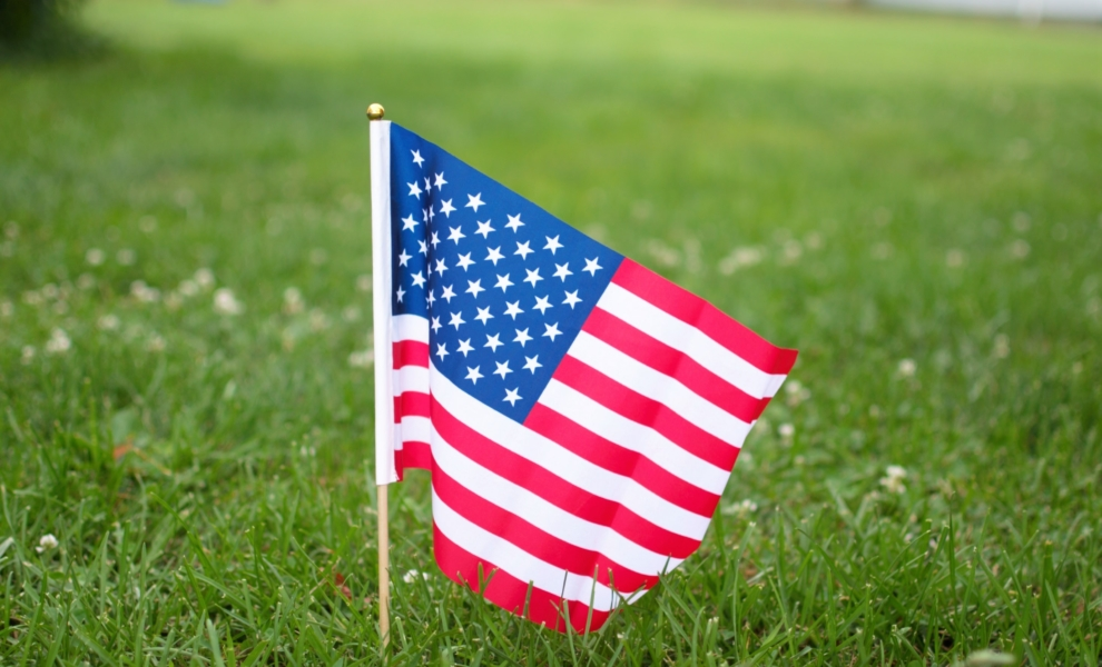 American Flag 4th of July Celebration Necessities