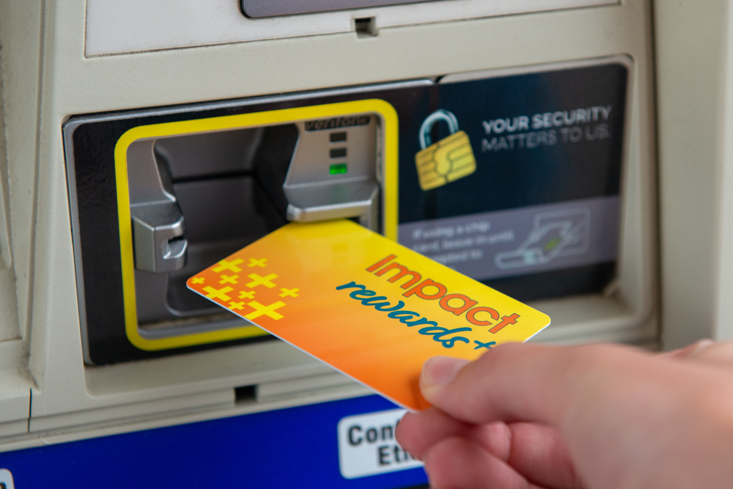 Super Saver Gas Discounts at The Store Impact Rewards+