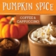 Pumpkin Spice Coffee and Cappuccino at The Store