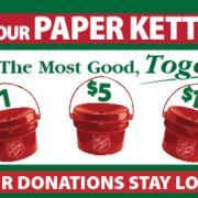 Paper Kettle Campaign Salvation Army The Store Fundraiser