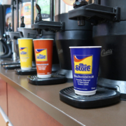 New Eco-Friendly Coffee Cups at The Store